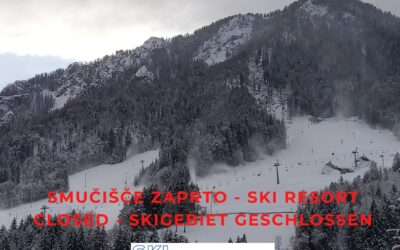 Ski resort is due Decree from Slovenian government unfortunately closed.